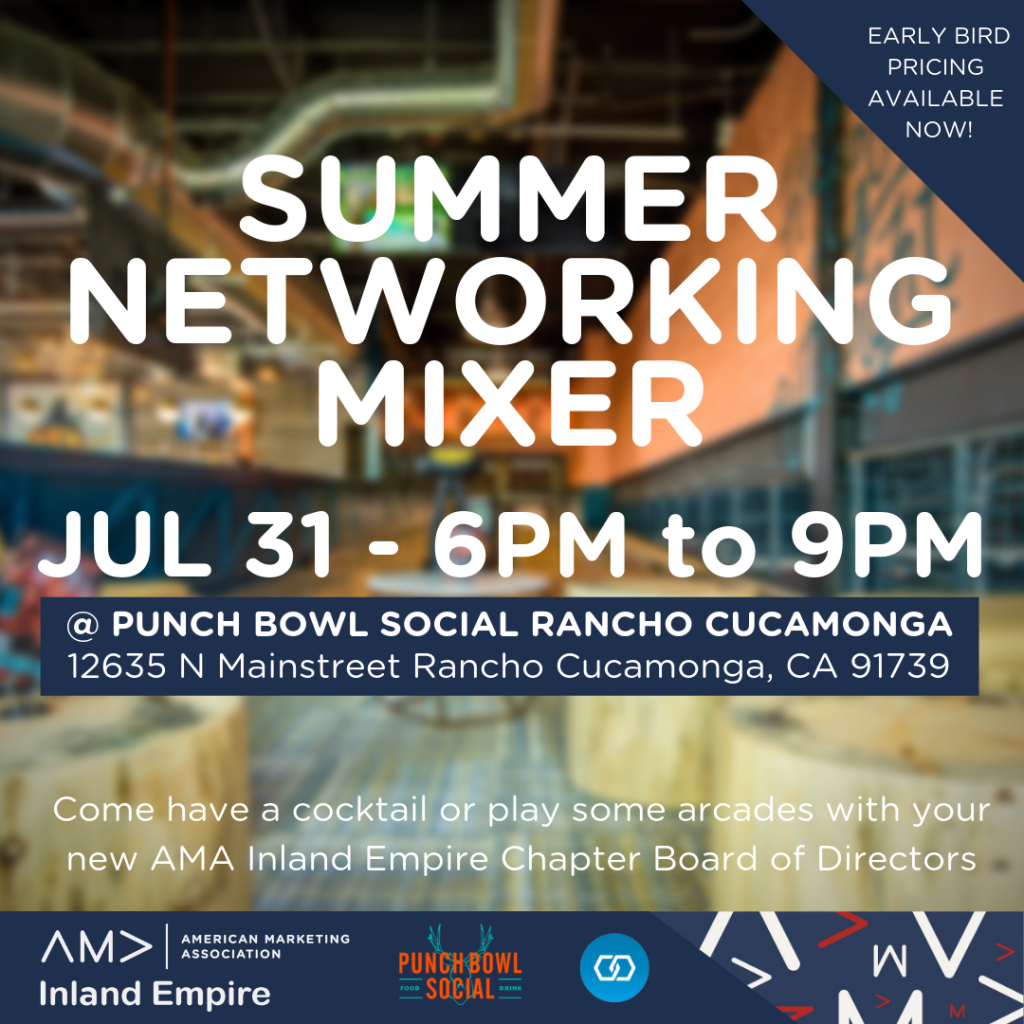AMA-IE Networking Mixer