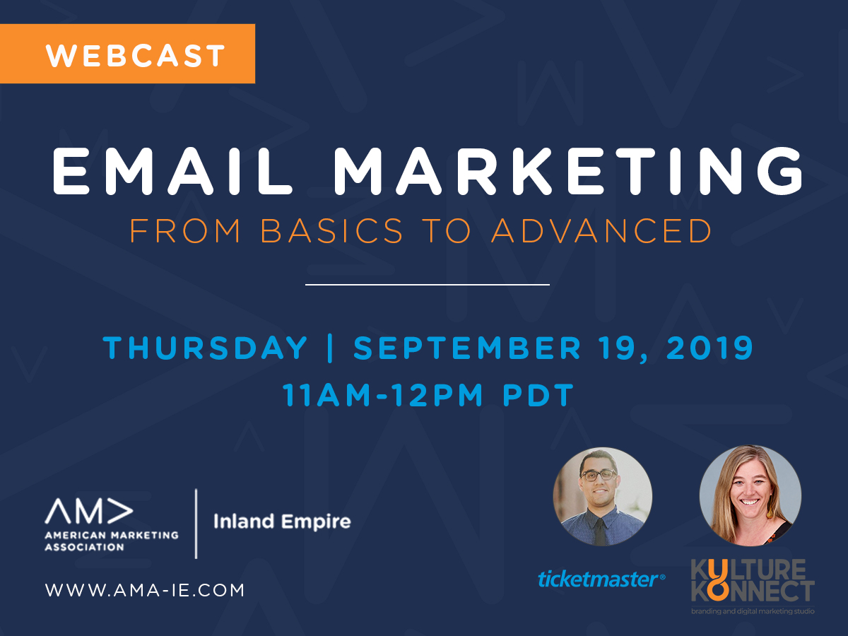 AMA-IE Email Marketing Webcast